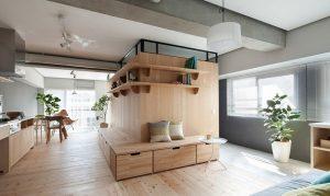 بازسازی آپارتمان-فضا