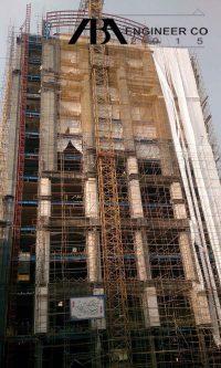 قبل. پروژه تجاري اداري زعفرانيه