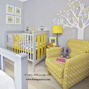 بازسازی آپارتمان - اتاق خواب خلاقانه