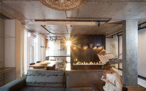 بازسازي و دکوراسيون با شمع آپارتمان